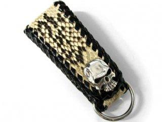 【TRANSCORE】 Snake Skin Keyholder