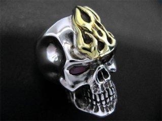 【TRANSCORE】 Grudge Skull Ring GFR