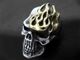 【TRANSCORE】 Grudge Skull Ring GF
