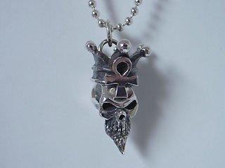 【TRANSCORE】 King Skull Pendant