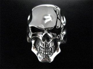 【TRANSCORE】 Cracked Skull Ring