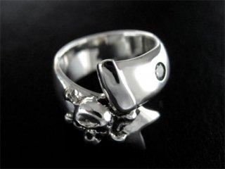 【TRANSCORE】Skull Bandage Ring