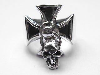 【TRANSCORE】 TSC Iron Cross Ring