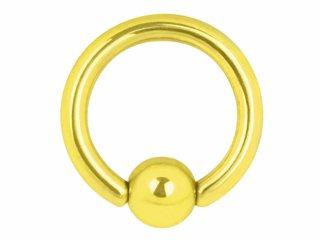 【GTR-14G】Titan Zircon Ball Closure Rings 14G