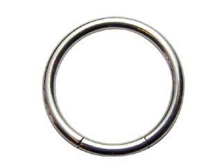 【XSR-14G】Titanium Smooth Segment Rings 14G