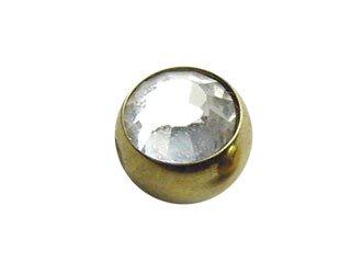 【GCJ】Zircon Clip In Jewelled Balls