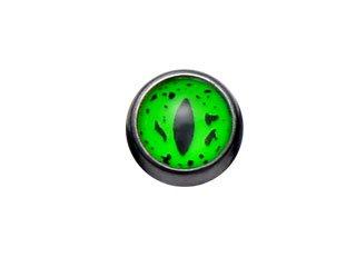 【KRF-14G-6b】Blackline Reptile Eye Fluoroballs (6mm ball)