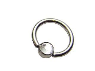 【XLV-14G】Titanium Slave Jewelled Balls 14G用