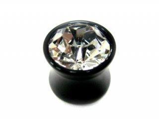 ★sale★ Acrylic Single Jewelled Plug