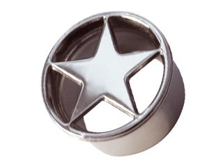 Lazer Cut Single Flared Eyelet - STAR