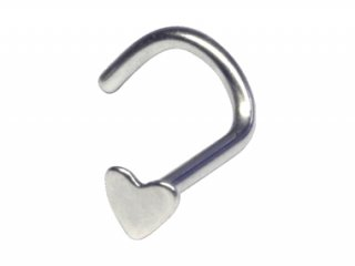 【NSH】Heart Nose Stud
