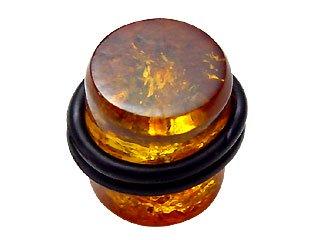 【AMP-14mm】Amber Plug 14mm (定価\6,300)