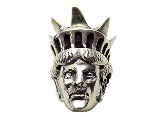 【SML】Silver Clip-in Miss Liberty (定価¥3,150)
