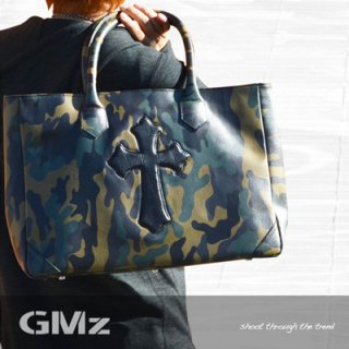 【GMz】 Cross Tote Bag