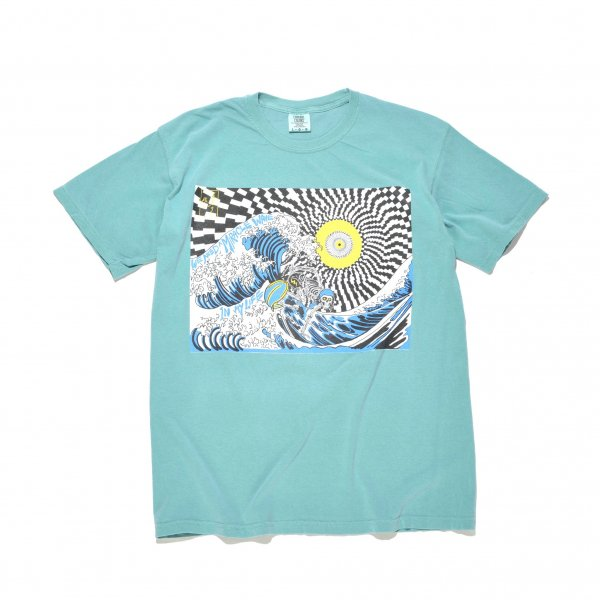 PSYCHEDELIC SURFER TEE