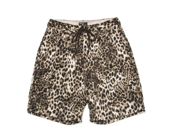 LEOPARD EASY SHORTS