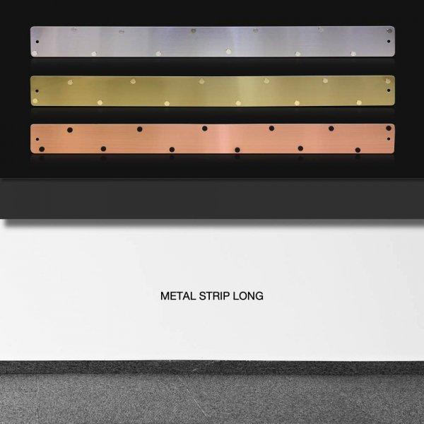 メタル ストリップ ロング おしゃれな 壁掛け マグネットボード