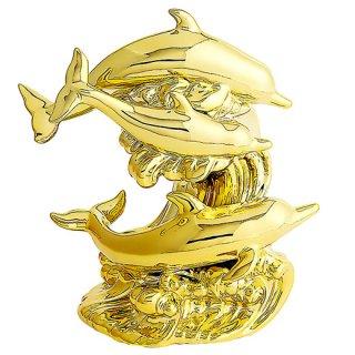 ドルフィン ブランデー|ゴールドドルフィン(イルカ 3匹版) 40% 500ml