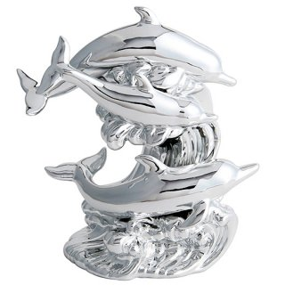 ドルフィン ブランデー|プラチナムドルフィン(イルカ 3匹版) 40% 500ml