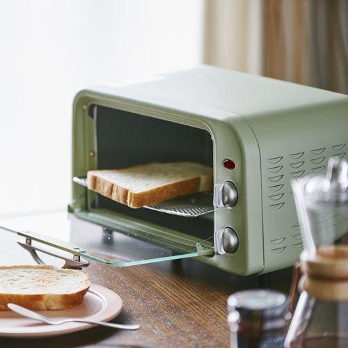 レトロ調ベーカリートースター ハイパワー230℃焼き上げ