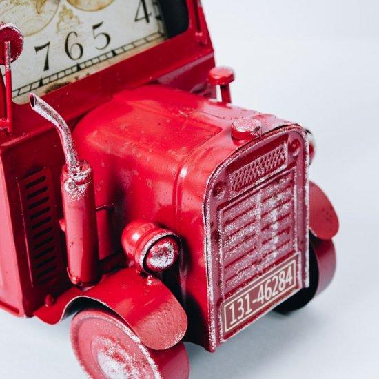 ヴィンテージモチーフクロック「tractor(トラクター)」