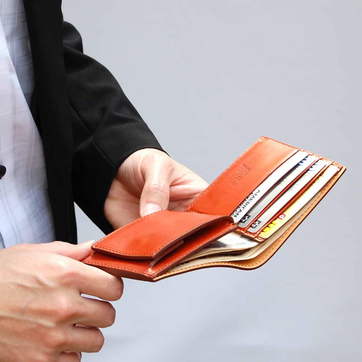 二つ折財布サイズ