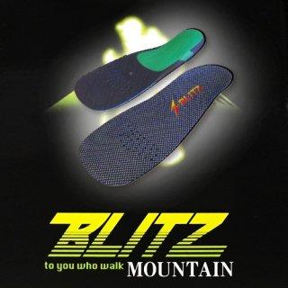 インソールBLITZ マウンテン BLITZ-T(ブリッツ 登山用モデル)