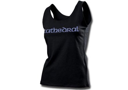Cathedral / カテドラル - Logo. レディースタンクトップ【お取寄せ】