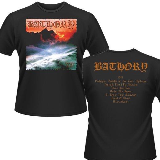 Bathory / バソリー - Twilight Of The Gods. Tシャツ【お取寄せ】