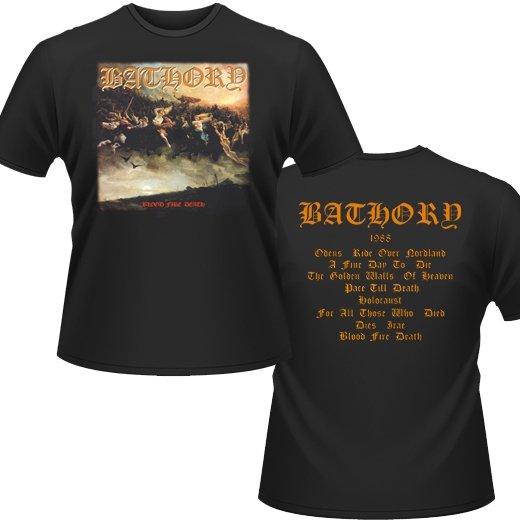 Bathory / バソリー - Blood Fire Death. Tシャツ【お取寄せ】