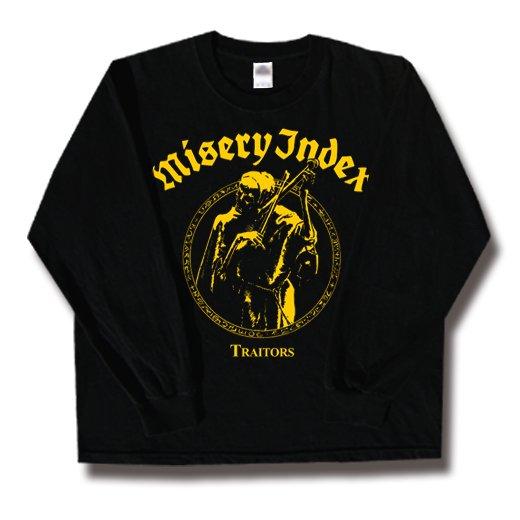 Misery Index / ミザリー・インデックス - Traitors. ロングスリーブTシャツ【お取寄せ】