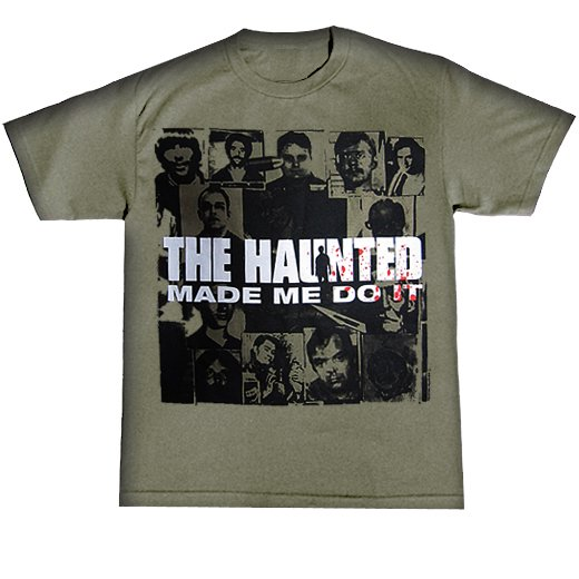 The Haunted / ザ・ホーンテッド - Made Me Do It. Tシャツ【お取寄せ】