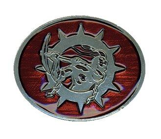 Soilwork / ソイルワーク - Hammerman Logo. ベルトバックル【お取寄せ】