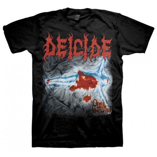 Deicide / ディーサイド - Once Upon The Cross. Tシャツ【お取寄せ】