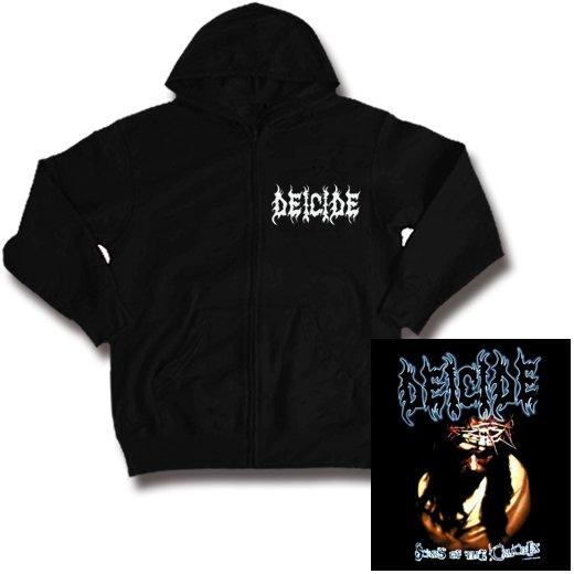 Deicide / ディーサイド - Scars of The Crucifix. ジップアップパーカー【お取寄せ】