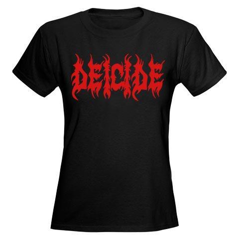 Deicide / ディーサイド - Logo. レディースTシャツ【お取寄せ】