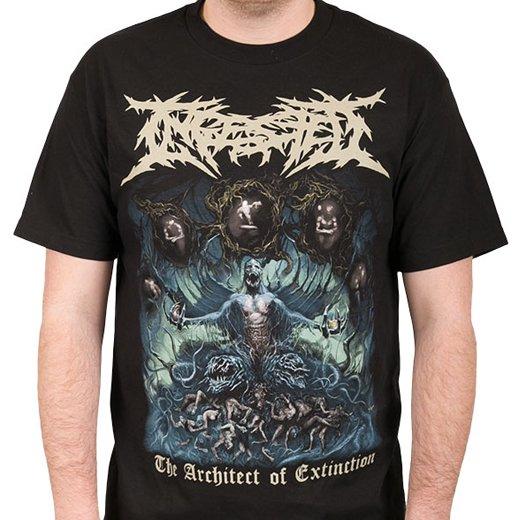 Ingested / インジェステッド - The Architect Of Extinction. Tシャツ【お取寄せ】
