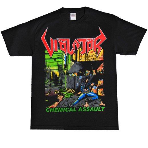 Violator / ヴァイオレーター - Chemical Assault. Tシャツ【お取寄せ】