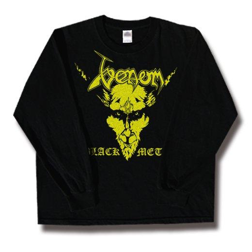 Venom / ヴェノム - Black Metal. ロングスリーブTシャツ【お取寄せ】