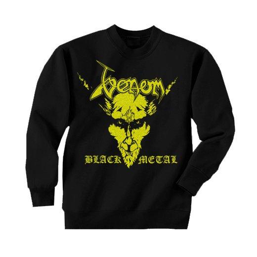 Venom / ヴェノム - Black Metal. トレーナー【お取寄せ】