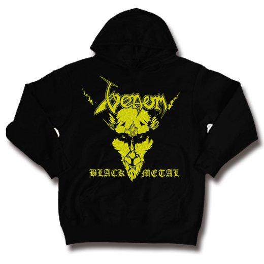 Venom / ヴェノム - Black Metal. パーカー【お取寄せ】
