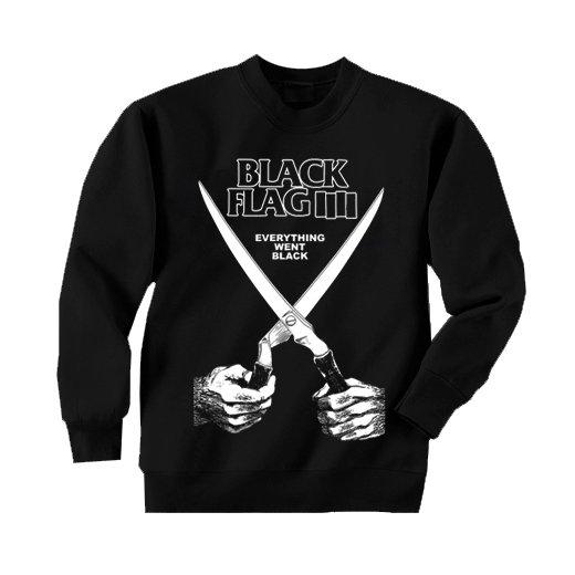 Black Flag / ブラック・フラッグ - Everything Went Black. トレーナー【お取寄せ】