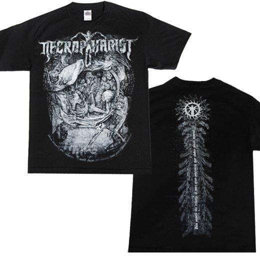 Necrophagist / ネクロファジスト - Mors. Tシャツ【お取寄せ】