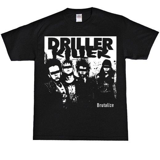 Driller Killer / ドリラー・キラー - Brutalize. Tシャツ【お取寄せ】