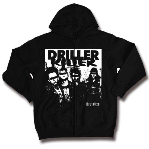 Driller Killer / ドリラー・キラー - Brutalize. ジップアップパーカー【お取寄せ】