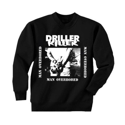 Driller Killer / ドリラー・キラー - Man Overboard. トレーナー【お取寄せ】