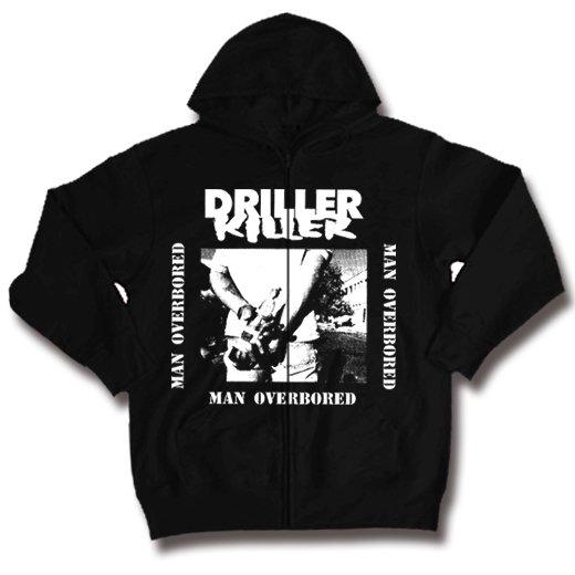 Driller Killer / ドリラー・キラー - Man Overboard. ジップアップパーカー【お取寄せ】
