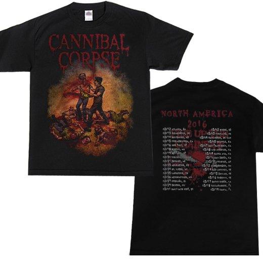 【お取寄せ】Cannibal Corpse / カンニバル・コープス - Fire Up The Chainsaw. Tシャツ