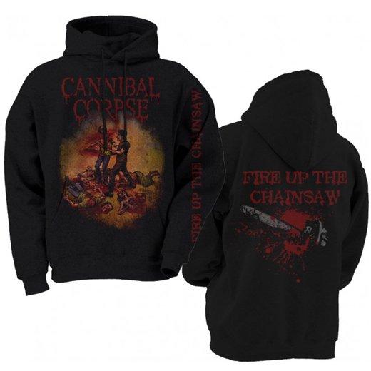 【お取寄せ】Cannibal Corpse / カンニバル・コープス - Fire Up The Chainsaw. パーカー
