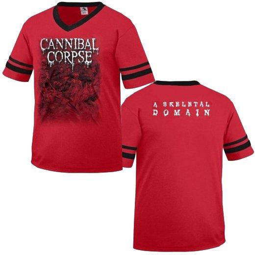 【お取寄せ】Cannibal Corpse / カンニバル・コープス - Skeletal Domain. サッカージャージ